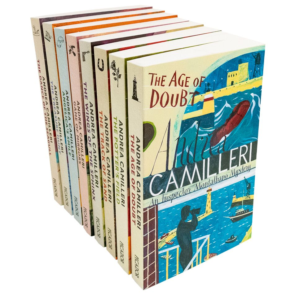 Andrea Camilleri 8 Books Set