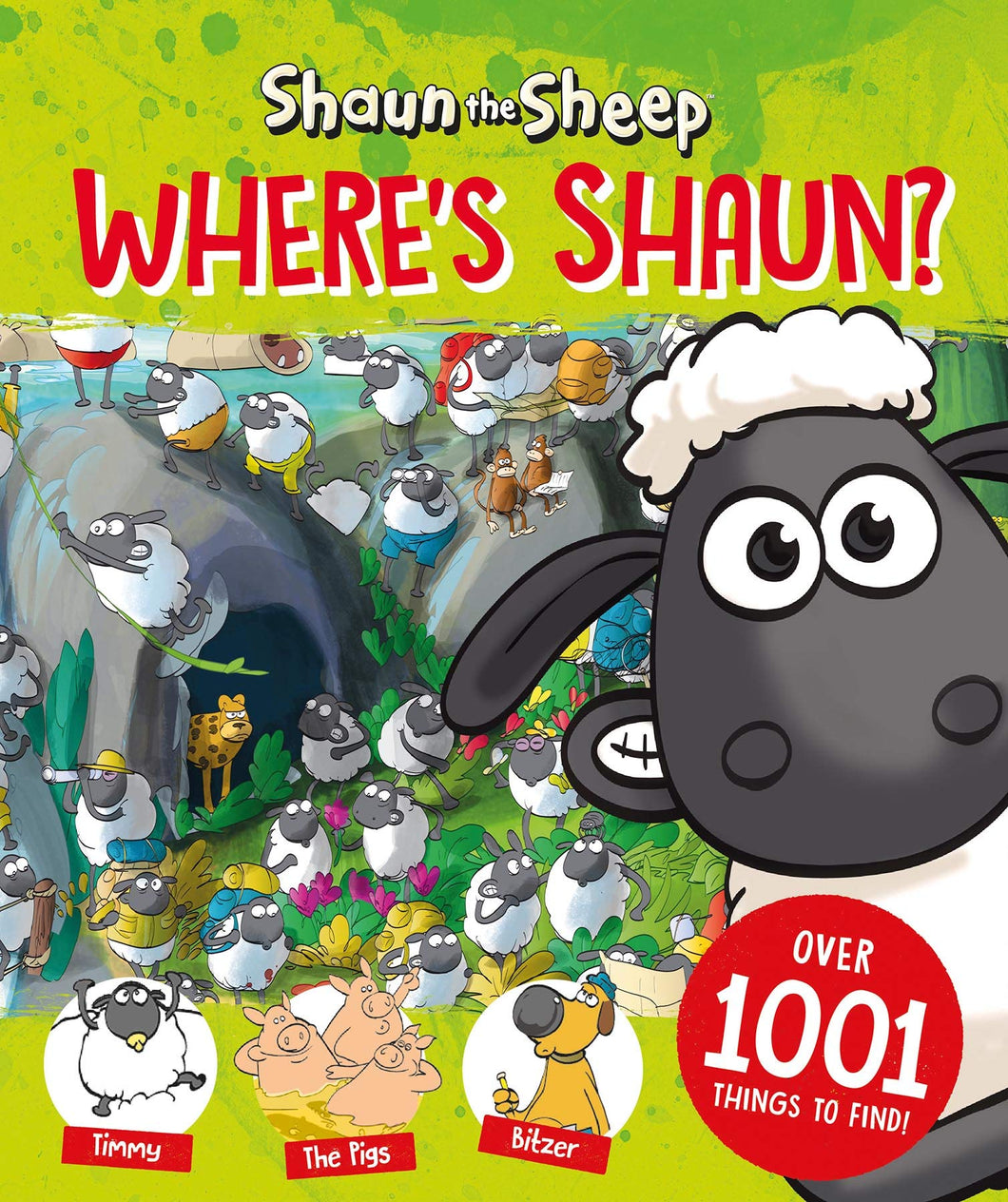 Shaun the Sheep Wheres Shaun