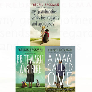 Fredrick Backman 3 Books