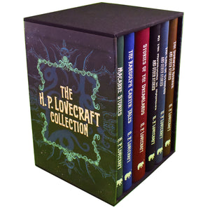 H P Lovecraft 6 Books Set
