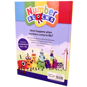 Numberblocks Annual 2020 Hardback NEW Book By Sweet Cherry Publishing