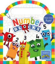 Load image into Gallery viewer, Number Blocks Wipe Clean Fun Children Book Hardback By Sweet Cherry Publisher