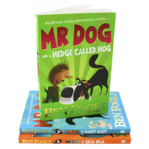 Mr Dog & Rabbit Habit 3 Books Children Collection Paperback Set By Ben Fogle