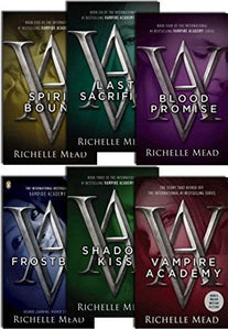 Vampire Academy Series 6 Books Young Adult Collection Paperback By Richelle Mead