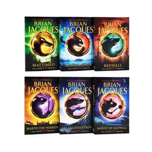 A Tale Of Redwall 5 Books Young Adult Collection Paperback Set By- Brian Jacques