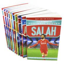 Load image into Gallery viewer, Ultimate Football Heroes Series 2 - 10 Books Children Collection Paperback Set By Matt & Tom Oldfield