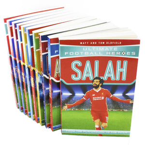 Ultimate Football Heroes Series 2 - 10 Books Children Collection Paperback Set By Matt & Tom Oldfield