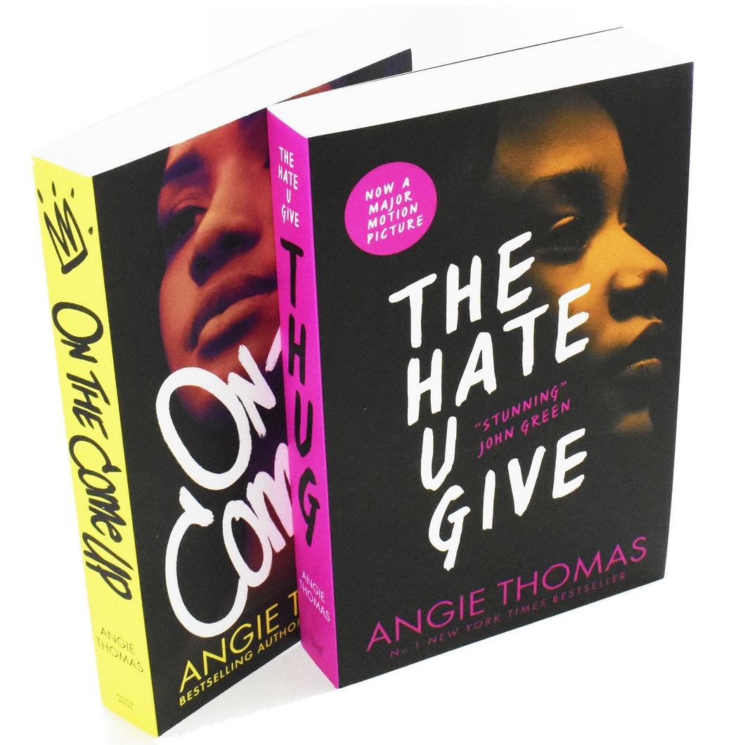 Hate U & On Come 2 Books Young Adult Collection Paperback Box Set By Angie Thomas