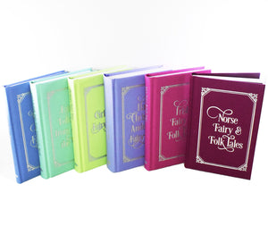 Classic Fairy & Folk Tales 6 Books Young Adult Collection Hardback Box Set