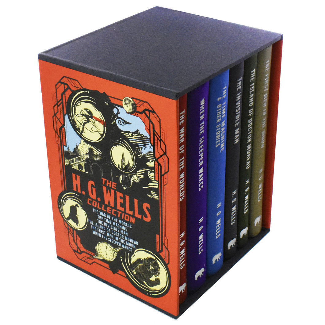 H G Wells 6 Books Young Adult Collection Hardback Box Set Herbert George Wells