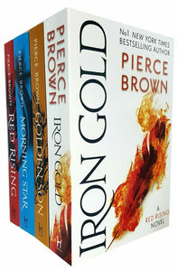 Red Rising Series 4 Books Young Adult Collection Paperback Set By Pierce Brown