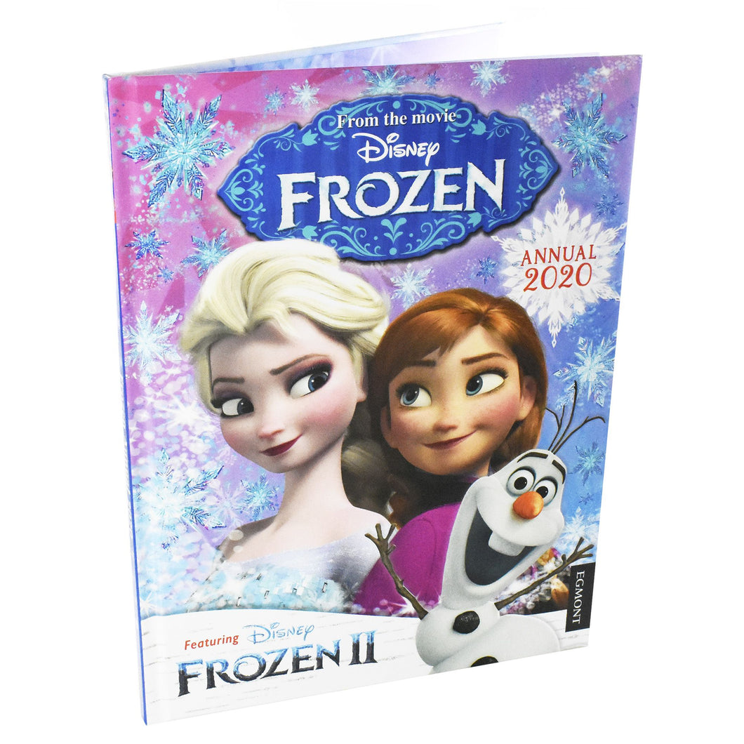 Disney Frozen Annual 2020 Hardback Book (Activities, Games, Puzzles, Facts)