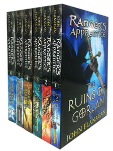 Rangers Apprentice Series 1 - 6 Books Young Adult Set Paperback By John Flanagan