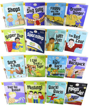 Load image into Gallery viewer, Biff, Chip and Kipper Stage 2 Read with Oxford 16 Books Collection Set - Age 4+