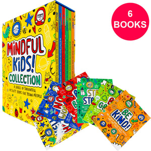 Mindful Kids 6 Books Activity Pack Children Set Paperback Box Set By Katie Abey