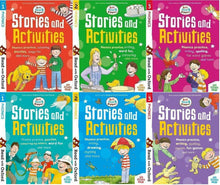 Load image into Gallery viewer, Biff Chip Kipper Phonics Stories & Activities Pack 6 Books Collection Stage 1to3