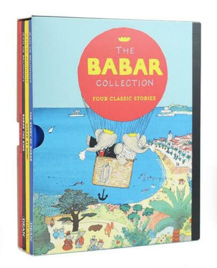 Babar 4 Books Classic Stories Children Collection Hardback By Jean de Brunhoff