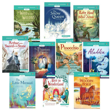 Usborne Story Books Developing Readers 10 Books Collection Level 2 New Paperback