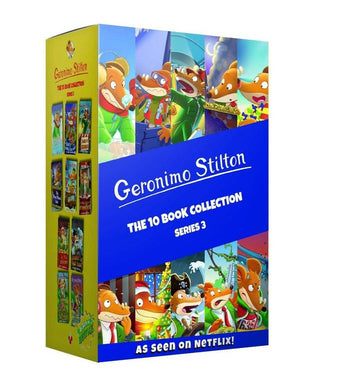 Geronimo Stilton 10 Books Collection (Series 3) - Paperback Boxset For Ages 5-7