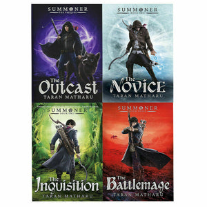 Summoner Series 4 Books Young Adult Collection Paperback Set By Taran Matharu