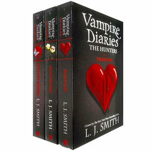 Vampire Diaries The Hunters 8 To 10 Books Young Adult Set Paperback By L J Smith