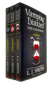 Vampire Diaries The Salvation 11-13 Books Young Adult Set Paperback By L J Smith