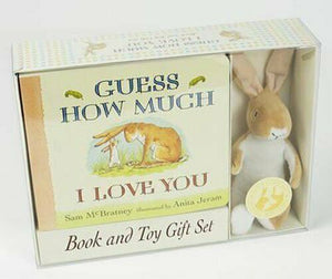 Guess How Much I Love You Toy With Bordbook Children Gift Pack By Anita Jeram