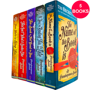 Secret Series 5 Books Adult Collection Paperback Set By Pseudonymous Bosch