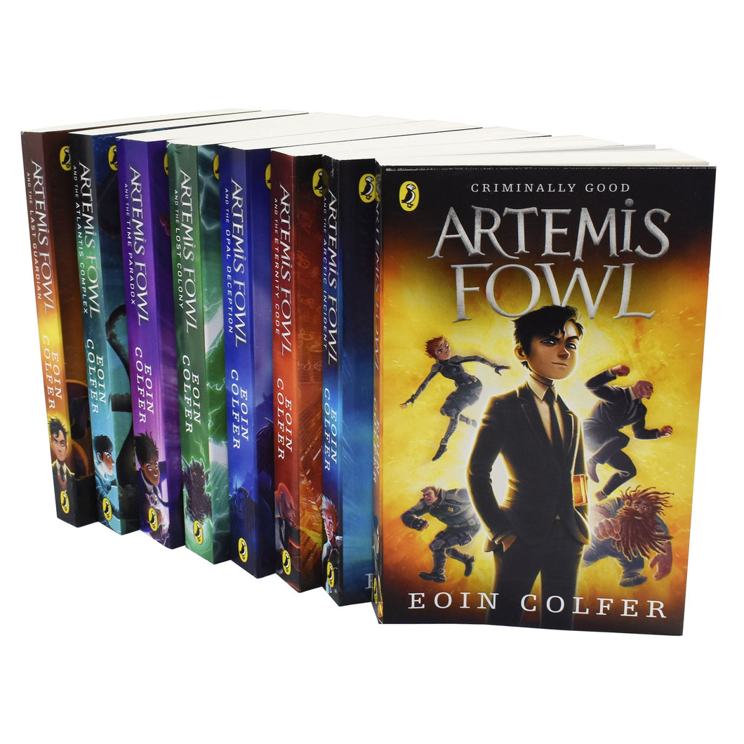 Artemis Fowl Collection Eoin Colfer 8 Books Set - Paperback