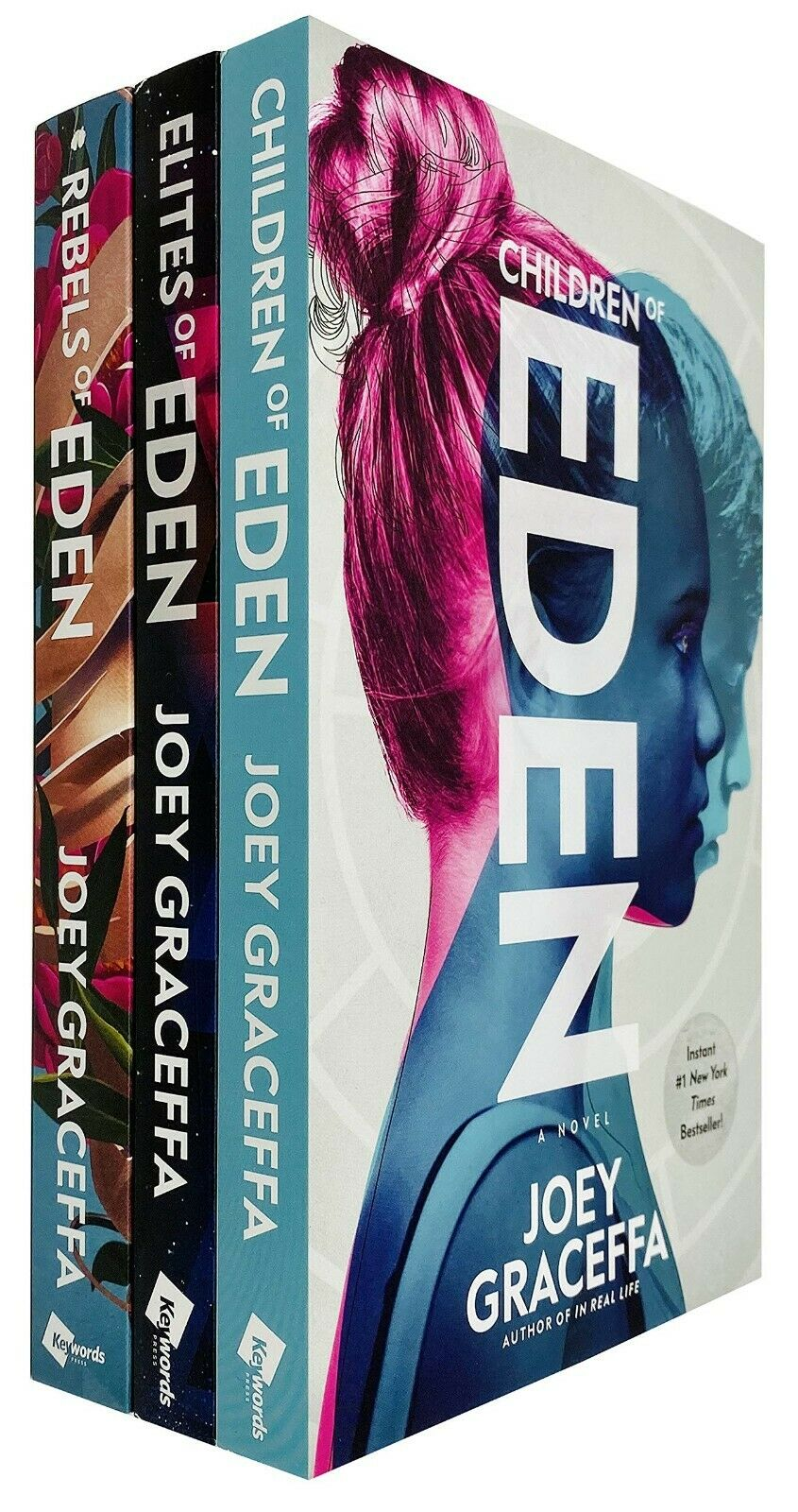 Children Of Eden Trilogy 3 Books Adult Set Paperback By Joey Graceffa
