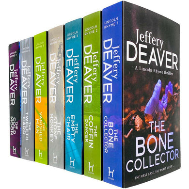 Lincoln Rhyme 7 Books Adult Set Paperback Collection By Jeffery Deaver