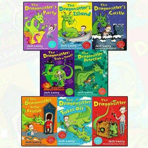 Dragonsitter 8 Books Children Collection Paperback Set By Josh Lacey
