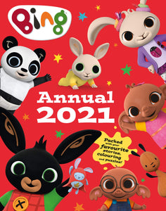 Bing Annual 2021 Children Book Hardback By HarperCollins