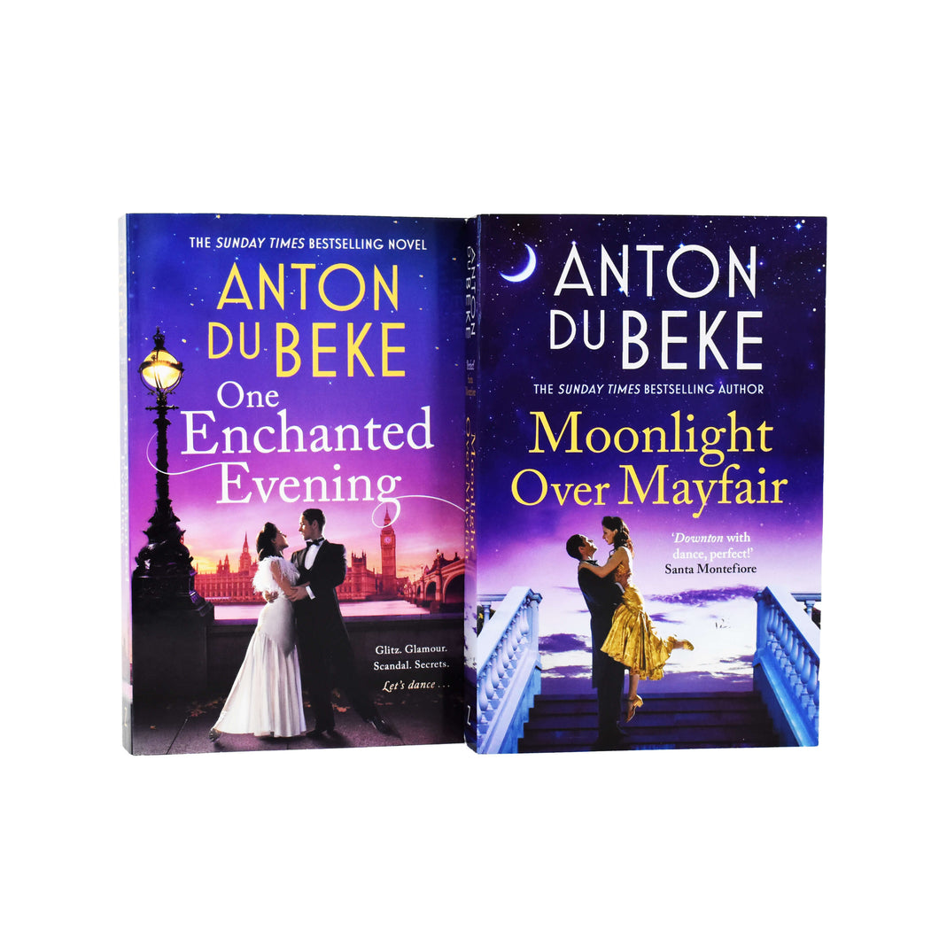 Perfect Santa Monterfiore Anton Du Beke: One Enchanted Evening, Moonlight Over Mayfair - 2 Books - Young Adults - Paperback