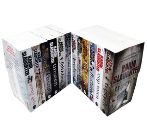 Karin Slaughter 12 Books Adult Collection Pack Paperback Gift Set