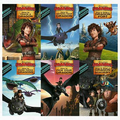 How To Train Your Dragon Early Reader 6 Books Children Collection  Paperback By - Erica David