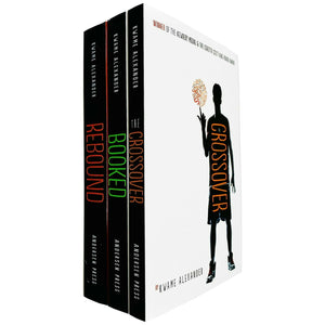 Crossover Series 3 Books Young Adult Set Paperback Pack By Kwame Alexande
