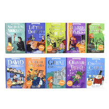 Load image into Gallery viewer, Charles Dickens Classics 10 Books Children Collection Paperback Gift Box Set