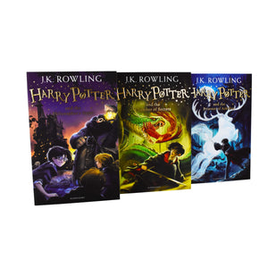 Harry Potter Magical Adventure Begins 3 Books Children Box Set Paperback Pack By J.K Rowling