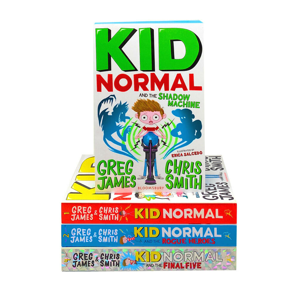 Kid Normal Series 4 Books Children Pack Collection Paperback By Greg James & Chris Smith