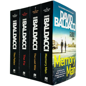 Amos Decker Series 4 Books Adult Collection Paperback Set By David Baldacci