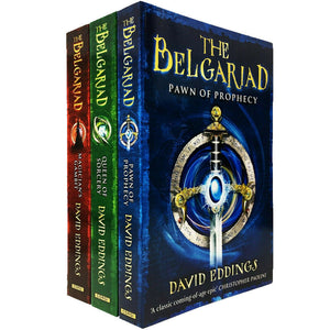 Belgariad Series 3 Books Collection Pack - Age Adult - Paperback by David Eddings