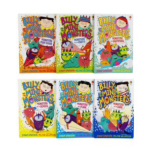 Billy and The Mini Monsters 6 Books Collection Set - Age 5-7 - Paperback by Zanna Davidson