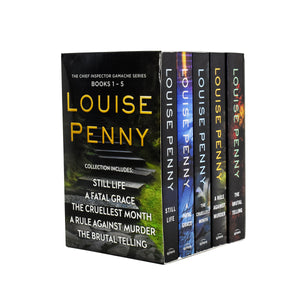 Chief Inspector Gamache Series 5 Books Collection Set - Age Young Adult - Paperback by Louise Penny