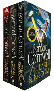 The Last Kingdom 3 Book Collection Set By  Bernard Cornwell