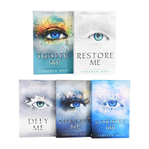 Shatter Me Series 5 Books Collection Set Paperback by Tahereh Mafi