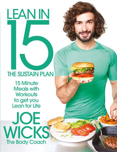 Lean In 15 Minutes The Sustain Plan Food Book by Joe Wicks