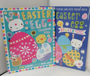 Easter Egg 2 Books Children Collection Paperback Set