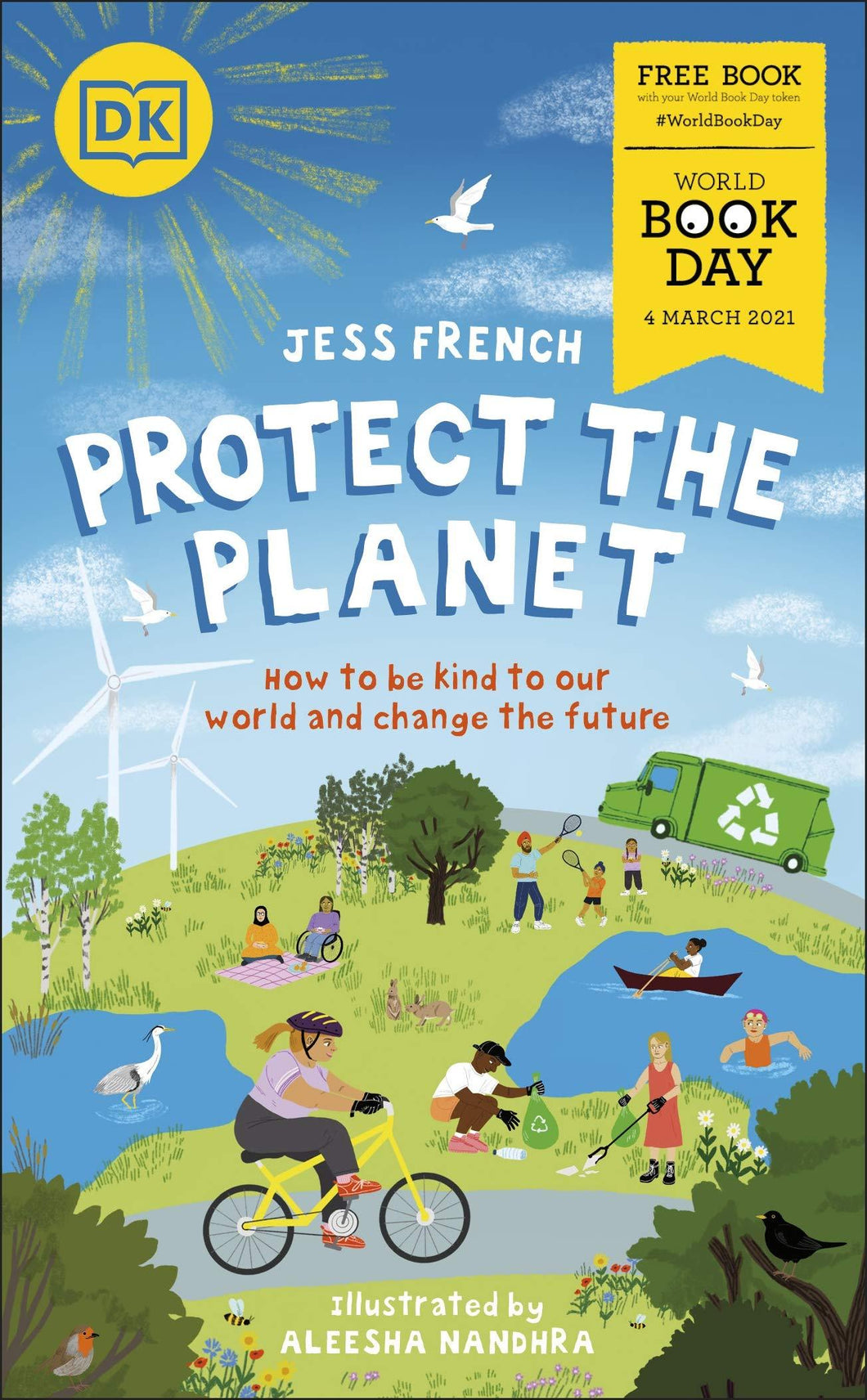 Protect the Planet World Book Day 2021- Paperback by Jess French