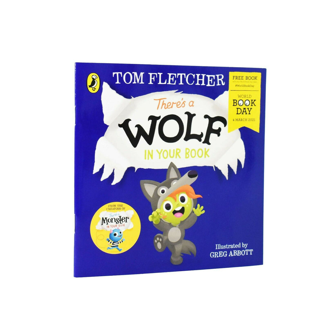 There's a Wolf in Your Book World Book Day 2021 - Paperback by Tom Fletcher